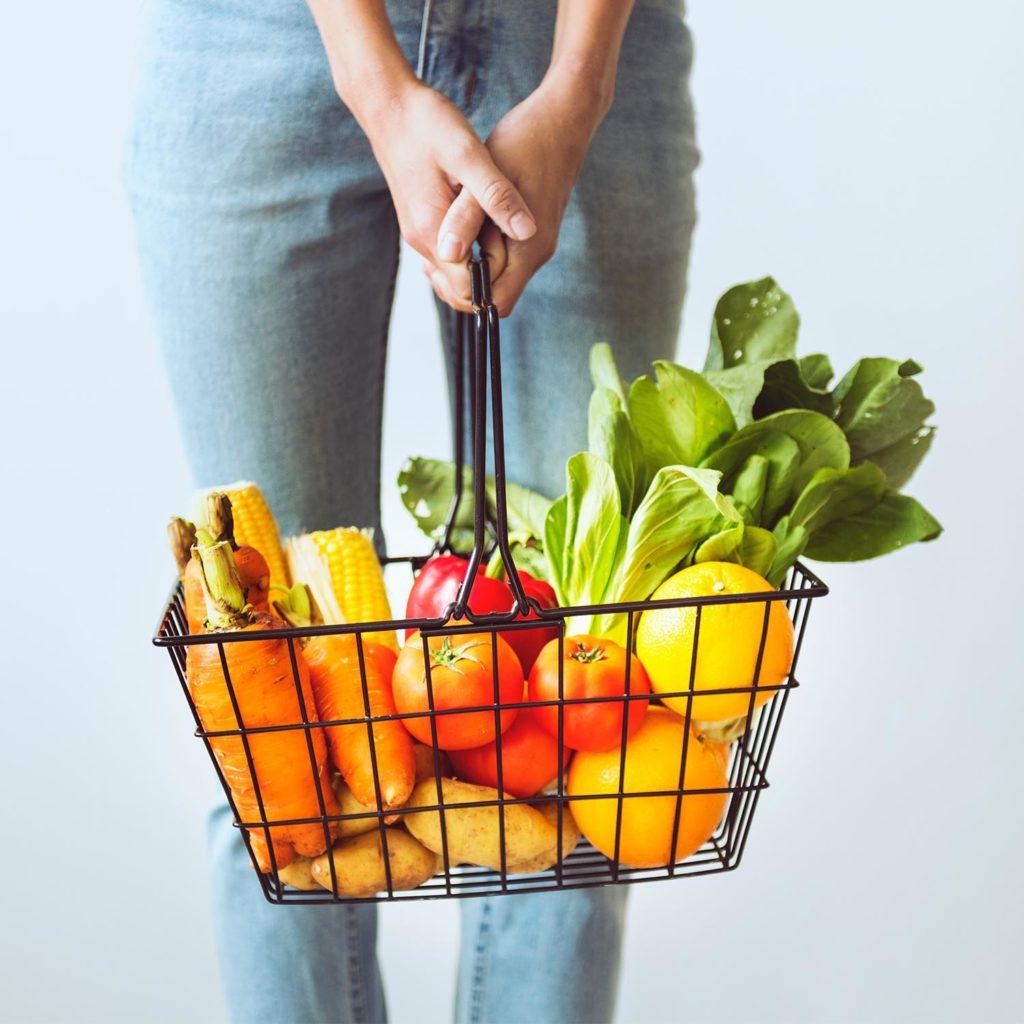 panier de fruit et légumes montreux